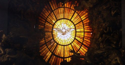 1660, stained glass, Throne of St. Peter, St. Peter's Basilica, Vatican