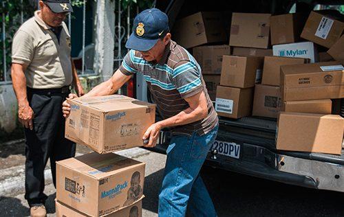 Additional Food Shipments