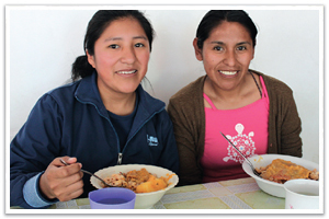 0572 - Meals for Poor Students - La Paz, Bolivia