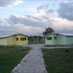 The new dorms at Pwoje Espwa