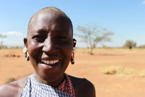 Thanks to the support of Cross Catholic Outreach, Maasai women like Hanna who live in a drought-impacted area of Kenya will soon receive the precious gift of water!