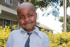 Kamungo'future looks much brighter now that he's going to school.