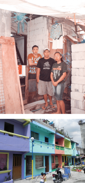 Gawad Kalinga transforms the slums of the Philippines into beautiful communities for families like Jose's.
