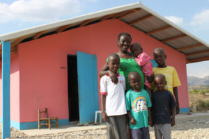 The Michel family is thankful for their new Cross Catholic-supplied home!