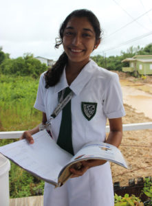 Because of a scholarship to Pallotti High School through Cross Catholic Outreach, Keili is working towards her dreams of becoming a pediatrician.