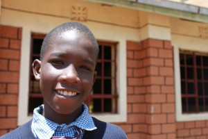 Thanks to Cross Catholic Outreach's support of St. John Bosco Rehabilitation Centre in Kitale, Kenya, 12-year-old Emmanuel is in school and on his way to achieving his dreams of helping improve the lives of other street children.