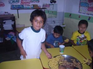 Sebastian is a high achiever at La Buena Esperanza.