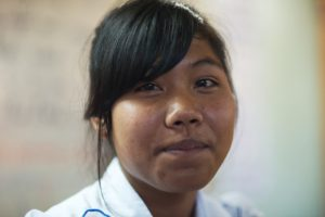 Thanks to the boarding home run by the Franciscan Missionaries of Mary in Vietnam, Suyen and girls like her who live in rural areas are able to go to school and break free of generational poverty.