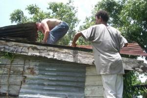 During the Repair.