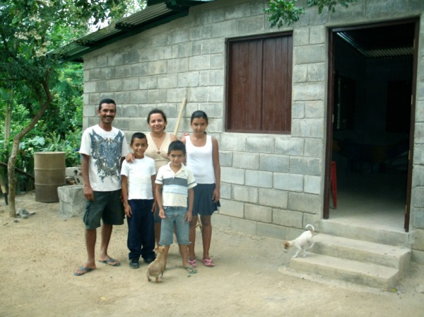 """I just wanted to share with Cross Catholic Outreach how awesome the new homes have turned out,"" said John Bland, founder of Amigos for Christ, our long-time ministry partner in Nicaragua. ""The houses are better than I ever expected. They are spacious and sturdy and provide families with a kitchen and modern toilet. Thank you for supporting this. It has been a huge blessing for the families we serve!"""