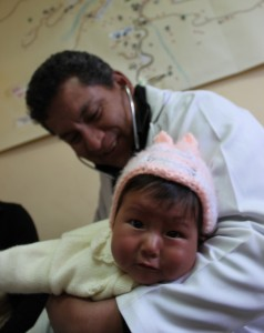 Noemi's 5-month-old daughter, Ingrid.