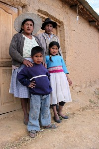Sabina and her husband of 25 years, Roberto, are poor farmers with nine children.