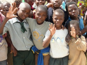 Impoverished children are able to receive a free, quality education at Luanshya Catholic Schools.