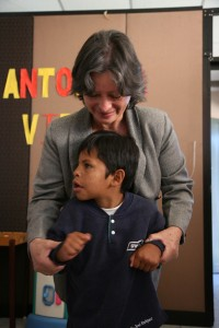 Antorcha de Vida founder and director Nancy Romero Cisneros saw a need for quality therapy for children with special needs whose parents can't afford traditional care.