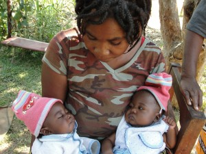 With help from Cross Catholic, HIV-infected mothers in Zambia are able to raise their children and live relatively normal lives.