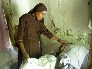 """Sr. Irene Clare Duval obeyed God's call to become a nun and serve the poor in a remote village in Haiti. God uses seemingly ordinary people like Sr. Irene to accomplish extraordinary work, when they say """"yes"""" to him."""