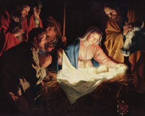 A light will shine on us this day: the Lord is born for us