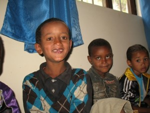 Thanks to Cross Catholic, Kasu is obtaining a solid Catholic education at Shambu Kindergarten in Ethiopia.