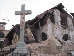 Many churches were destroyed in the earthquake. But Haitian's faith in God remains strong