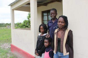 Once vulnerable orphans, the Massinga family is now living in a safe house in a caring community.