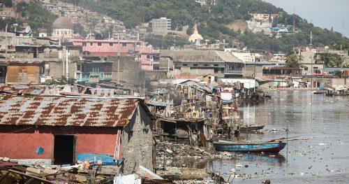 A port in Haiti