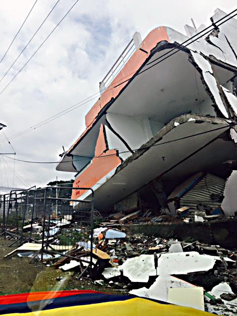 Ecuador damage