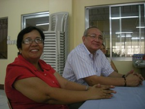 Bobby Rodrigo (right) gave up a life of luxury so that he could serve the poor through the Gawad Kalinga housing project.
