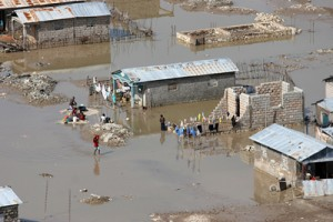 Cross Catholic's relief efforts saved lives during last year's flooding in Haiti.
