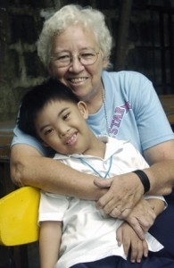 Sr. Irene runs the Marie Louis Trichet Learning Center, a school for handicapped children we support in Manila.
