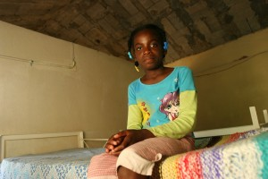 Twelve-year-old Farah teaches peers about AIDS, helping banish the negative stereotypes in Haiti surrounding the disease.