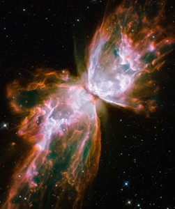 Amazing image taken from the new Hubble Space Telescope