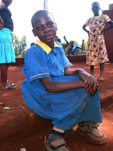 Cross Catholic provides AIDS education for poor school children in Uganda.