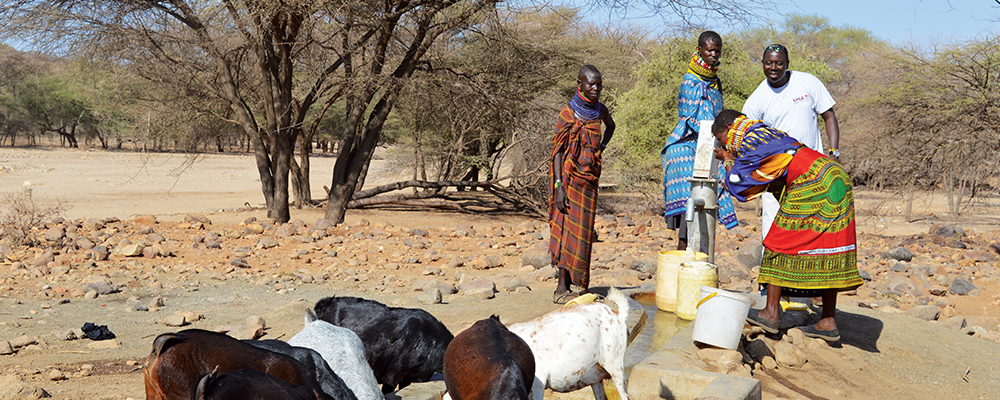 In Lodwar, the spirit of transformation is alive, where five wells are now pumping a regular supply of clean water to poor Turkana communities.