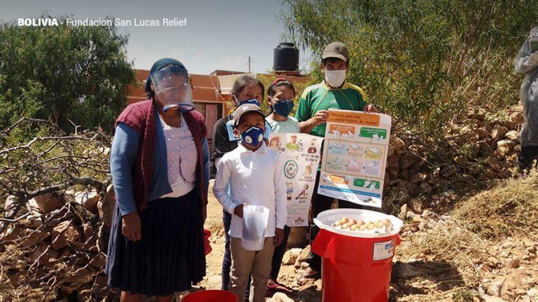 A beneficiary of Fundacion San Lucas in Bolivia