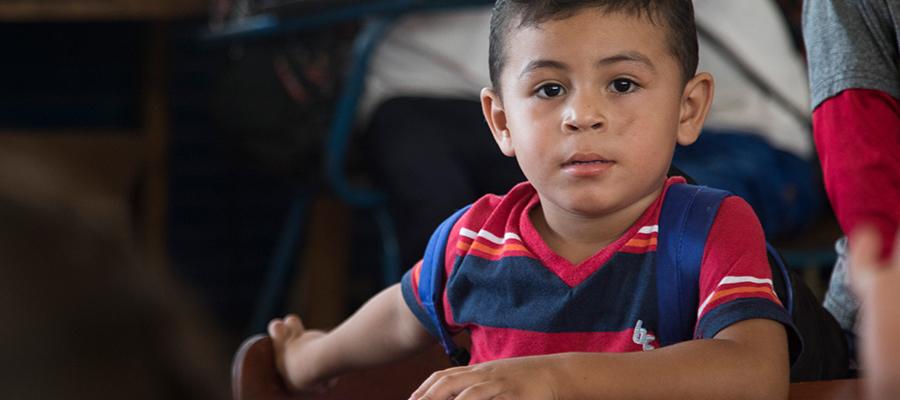 A Nicaraguan boy
