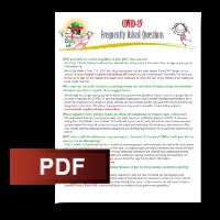 Box of Joy 2020 - COVID-19 FAQs