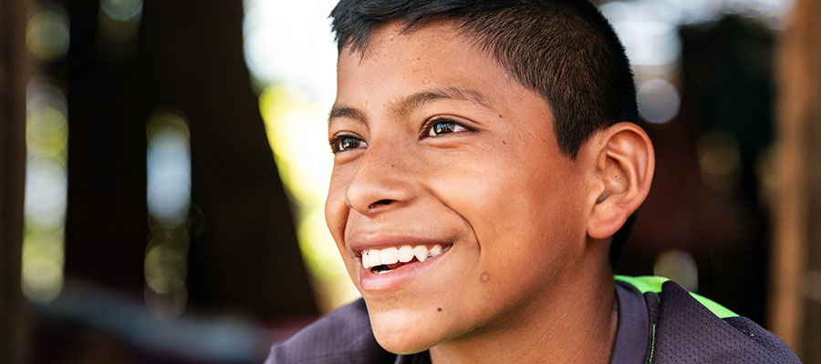 Remigio, a scholarship beneficiary in the Diocese of Santa Rosa de Lima in Guatemala