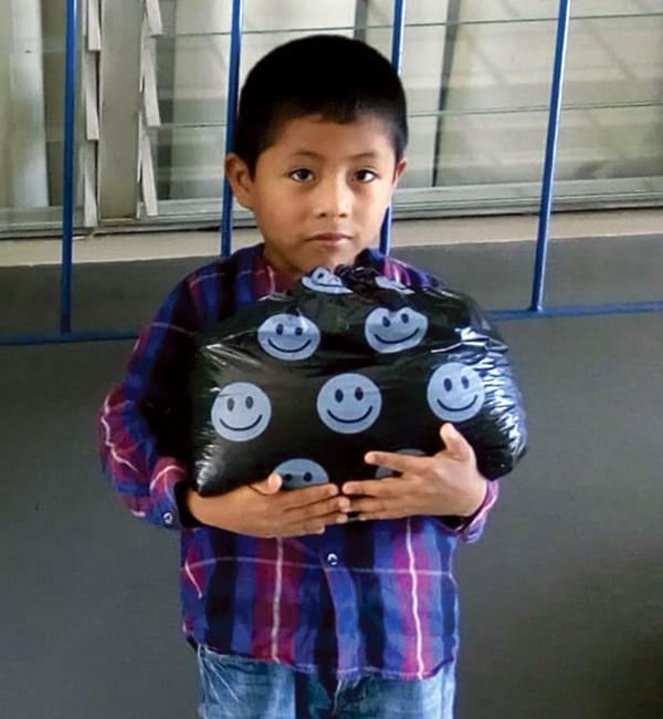 6 year-old Isaac in Guatemala