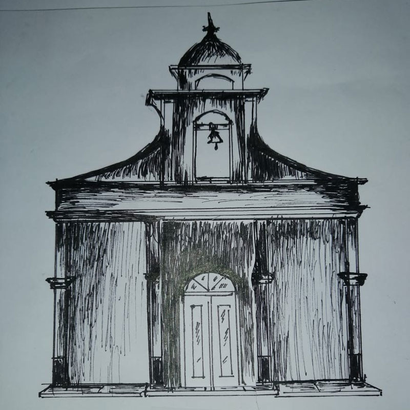 Sketch of the Chapel