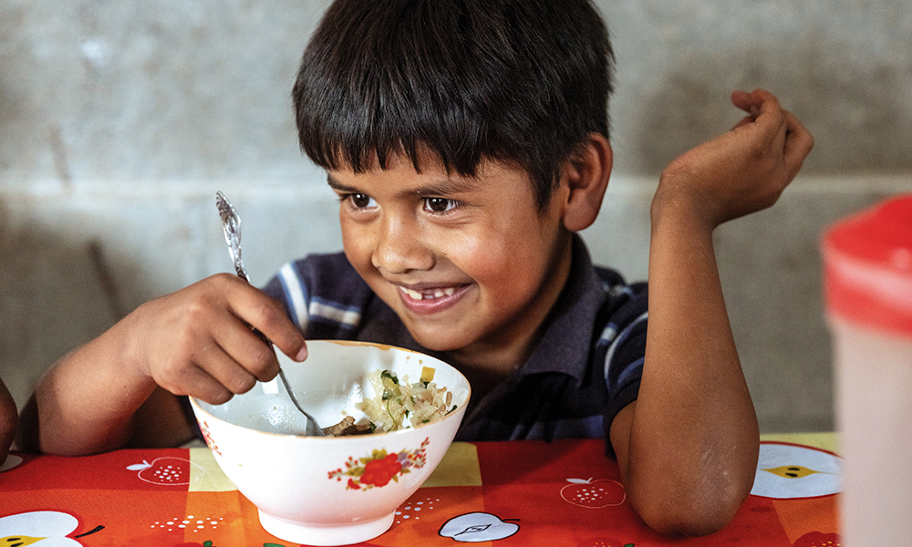Vitafood is a blessing for children and families in the Diocese of Santa Rosa de Lima, Guatemala.