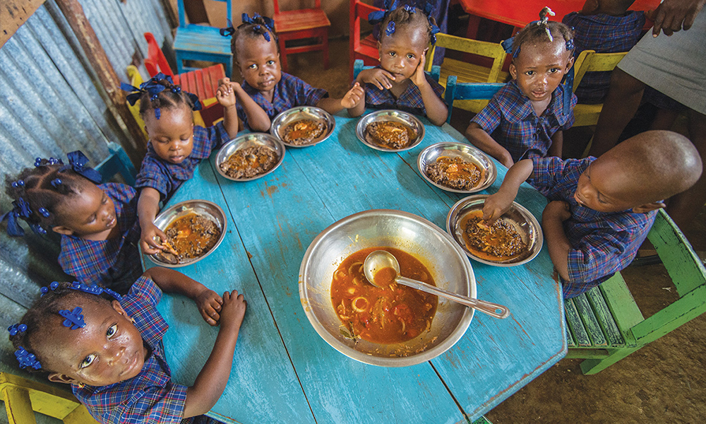 In Ouanaminthe, Haiti, Vitafood does more than fill stomachs — it demonstrates God's love.