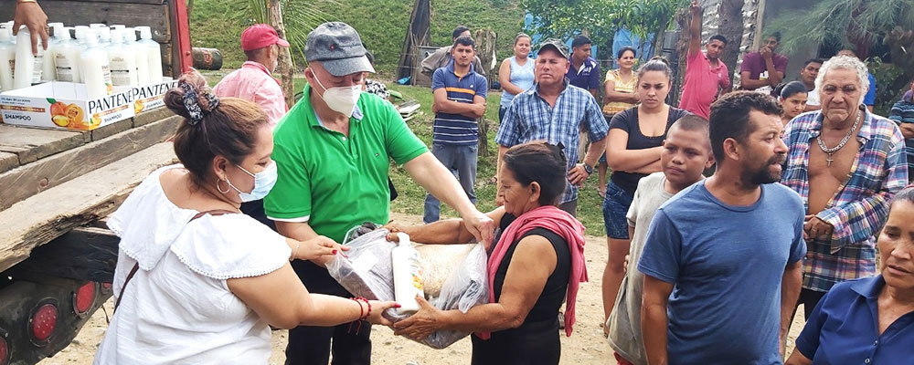 In Honduras, The Pearl Association set up clinics to minister aid and provide necessary medicine for survivors in need.