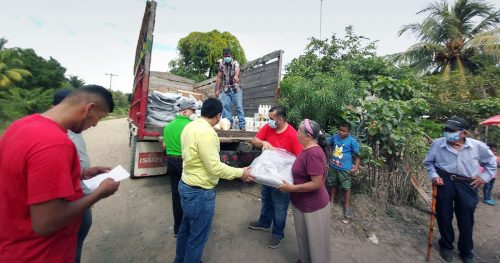 Cross Catholic Outreach's ministry partners (such as The Pearl Foundation in Honduras) overcame many challenges to safely deliver essential relief items to survivors in dire need.