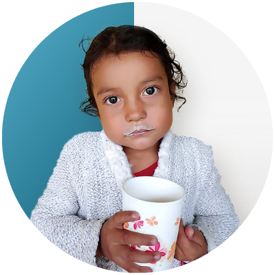 Maria Isabel con leche