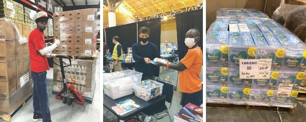 Essential relief items made an incredible difference for families affected by the hurricanes in Louisiana and Alabama.