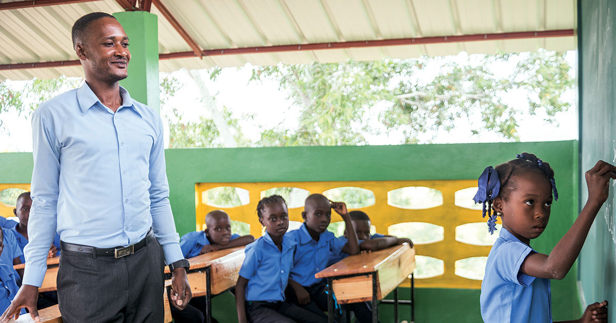 Restoring Hope Through Education in Haiti