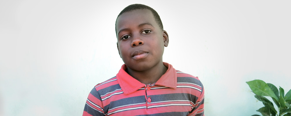 Your support will ensure that children like Shelton never go hungry again!