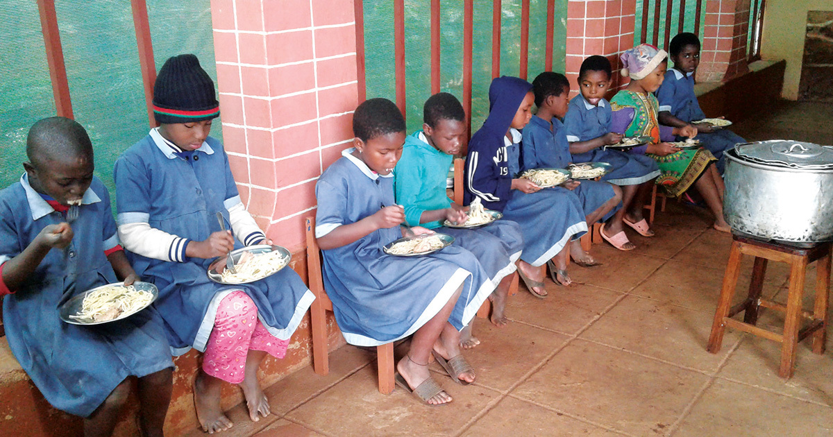Cross Catholic Outreach partners with ministries fighting hunger in Mozambique