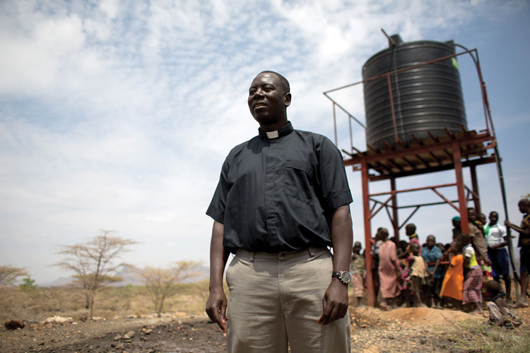 In 2013, Cross Catholic Outreach begins working with Father Fabian Hevi to provide clean water for families in Kenya. Since then, our joint efforts have blessed at least 133,724 people living in 33 communities.