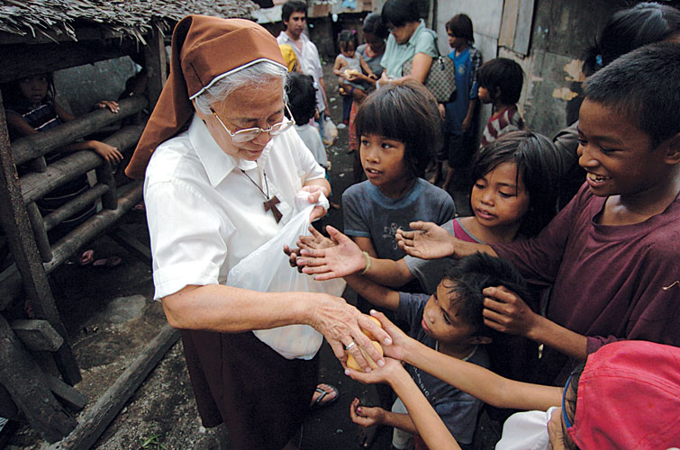 In the Philippines, the efforts of our ministry partners have always been an inspirational blessing.
